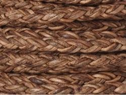 Square Braided Leather Cords