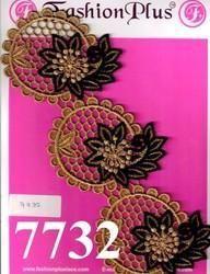 New Decorative and Best Design Colorful Zari Lace