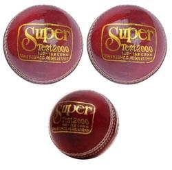 BDM Super Test Cricket Leather Ball