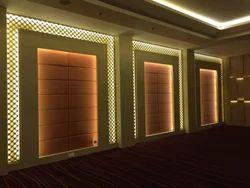 MDF Backlit Jali Banquet Jali Design