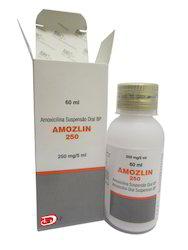 Amoxicillin Oral Suspension BP 250 mg