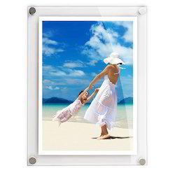 acrylic poster frame wall mounted acrylic photo frames service