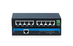 8-Port RS-232 to Ethernet Converter