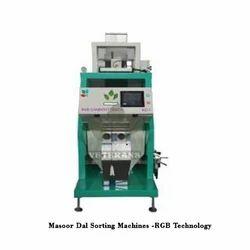 Masoor Dal Sorting Machines
