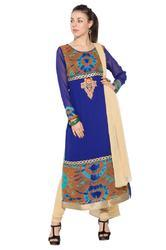 Designer Embroidery Party wear Styling Long Salwar Suit
