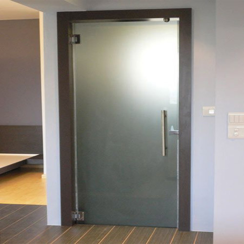 Small Bathroom Glass Shower Door: Aluminium Washroom Doors & Exterior Bathroom Door With