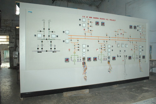 Manufacturer Of Mosaic Mimic Panels  U0026 Oil Pipeline Network
