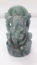 Natural Emraled Ganesh Idol