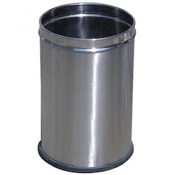 Perforated Steel Dustbin