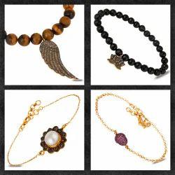 Pave Diamond Bracelets & Bangles