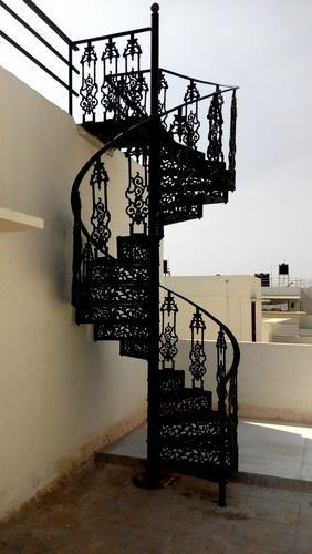 Cast Iron Spiral Staircase Outdoor Stair Case