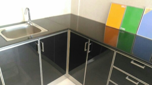 Kitchen V Shape Cupboard