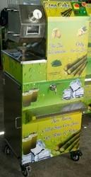 4 Roller Heavy Duty Sugarcane Juice Machine
