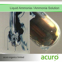 Liquid Ammonia / Ammonia Solution