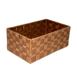 Square Paper Rope Basket