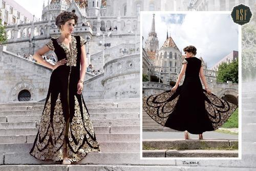 Long Designer Anarkali Suit
