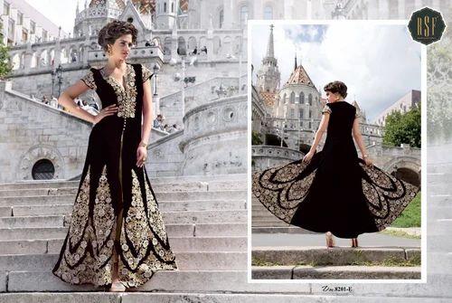 Long Designer Anarkali Suit