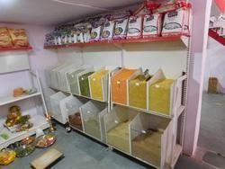 Supermarket Racks For Grains