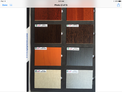Pre Laminated Particle Boards Folder
