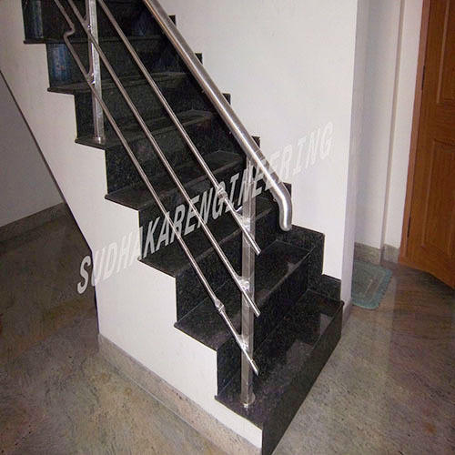 Stainless Steel Handrail   Decorative Handrail Manufacturer From Coimbatore