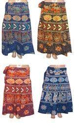 Girls Saganeri Wrap Skirt