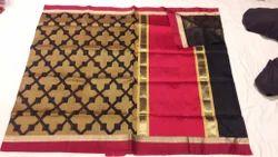 Tringal Kora Silk Saree