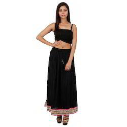 Rajasthani Black Skirt