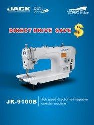 Jack Direct Drive Single Needle Lock Stitch Machine