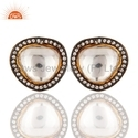 925 Silver Crystal Quartz Earrings