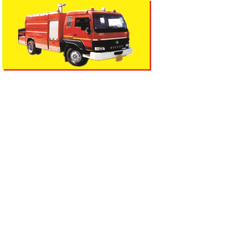 Emergency Rescue Fire Tender