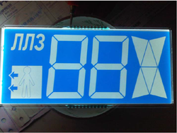 Segmented LCD Display - Elevator Cabin Display