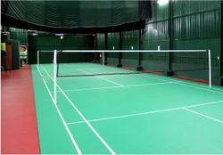 Net Fixed Badminton Poles