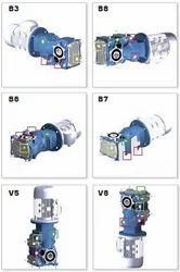 Helibevel Geared Motor