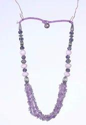 Box Semi Precious Stones Necklace