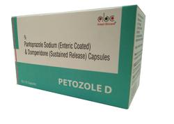 Pantoprazole And Domperidone DSR Capsules