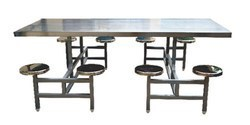 8 Seater Steel Dining Tables