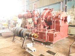 Back Pressure Steam Turbine