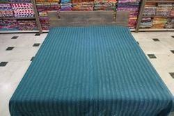 Kantha Quilt Handmade Queen Size Cotton Gudri Bedspread
