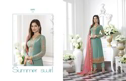 Straight Georgette Salwar Suit