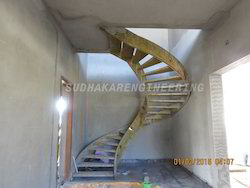 Spiral Staircase Without Concrete