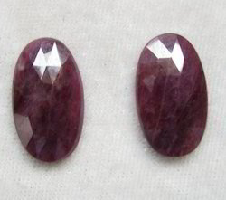 Natural Ruby Stone Talpe