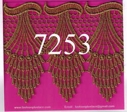 Elegant and Designer Fancy Indian Antic Gold Zari Lace