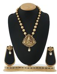 Traditional Ganpati Necklace Set