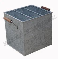 Galvanized Dustbin