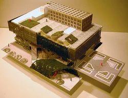 Institutional Building Model