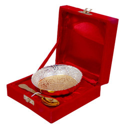 Gold & Silver Plated Bowl