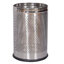 Stainless Steel Performated Dustbin
