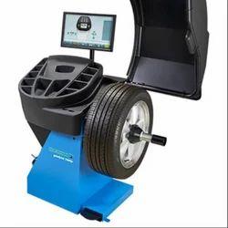 wheel balancer 7600 wheel balancer wholesale trader from jaipur rh balesaragarageequipments com Hofmann Wheel Balancer Parts Hofmann Tire Balancer Manual