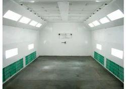Cross Draft Paint Booth