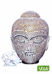 Mosaic Glass Buddha Lamps